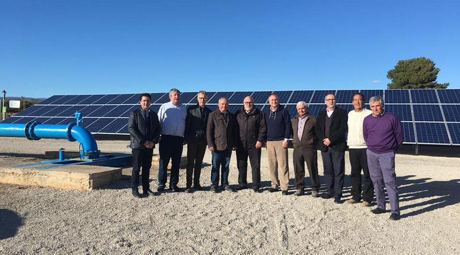 Presentación de la instalación de bombeo solar