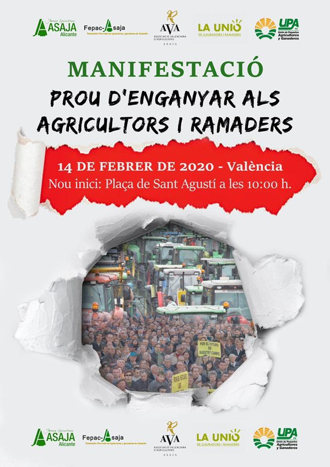 cartel manifestación