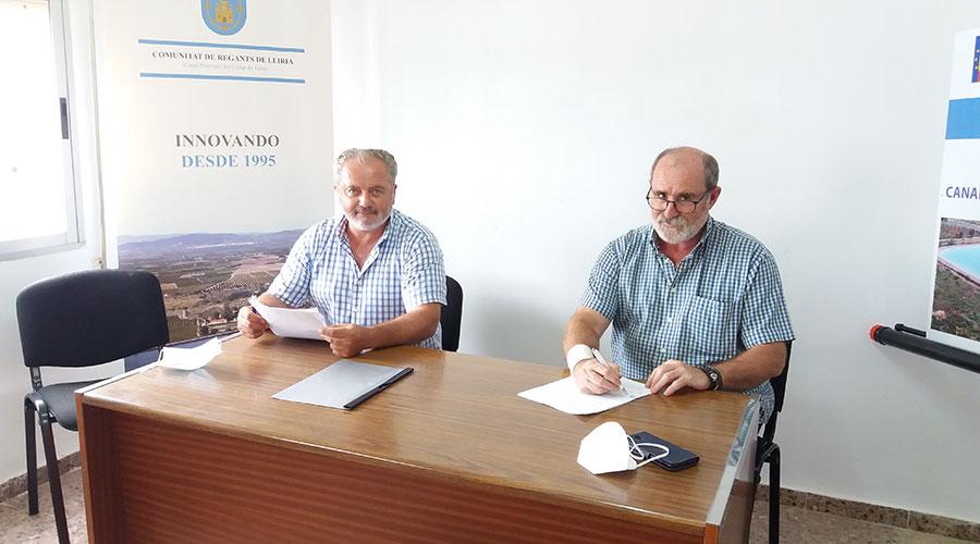 Convenio entre Mas del Capellà y la CR Lliria